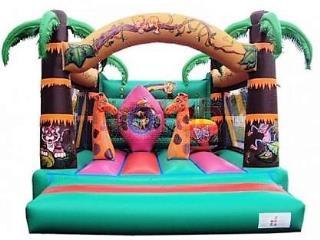 14ft x 17ft Jungle Bouncy Castle