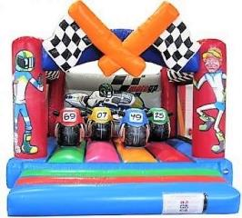 14ft x 17ft Moto GP Bouncy Castle
