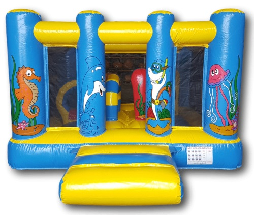 10ft x 10ft Ocean Mini Bouncer
