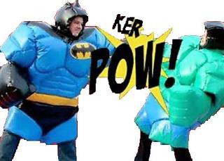 Superhero Wrestling
