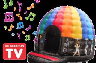 16ft x 14ft Disco Dome Bouncy Castle